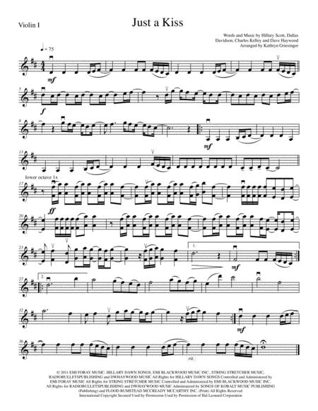 Just A Kiss - String Quartet