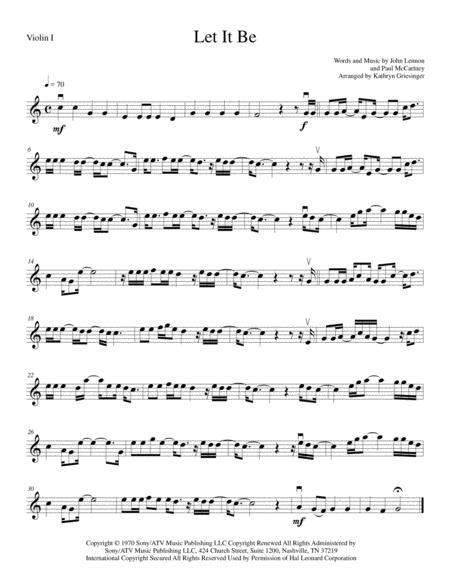 Let It Be - String Quartet