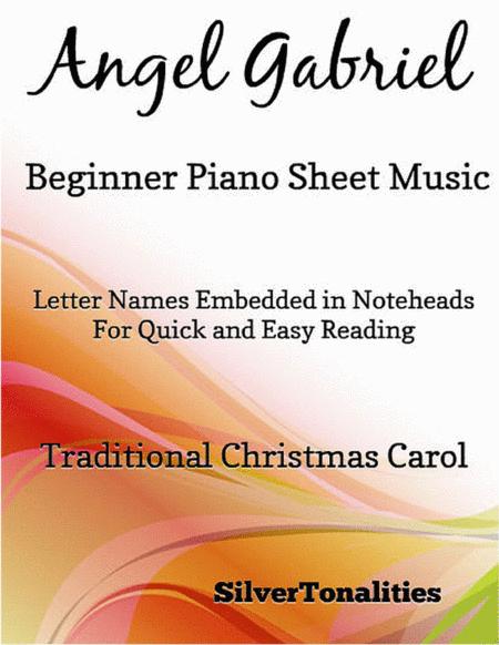 Angel Gabriel Beginner Piano Sheet Music
