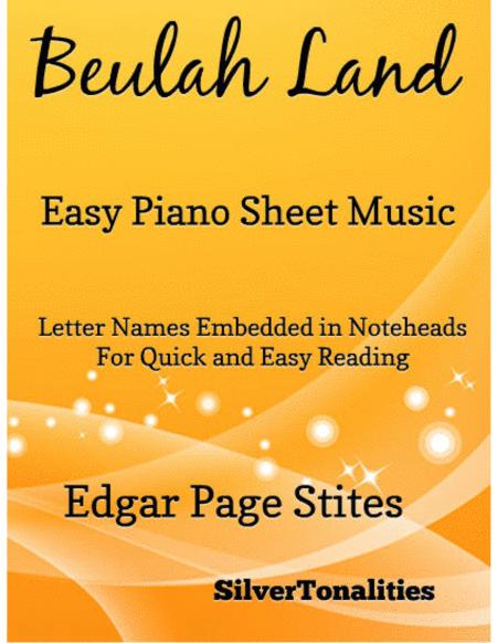 Beulah Land Easy Piano Sheet Music