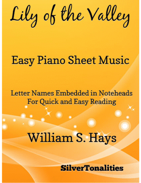 Lily of the Valley Easy Piano Sheet Music