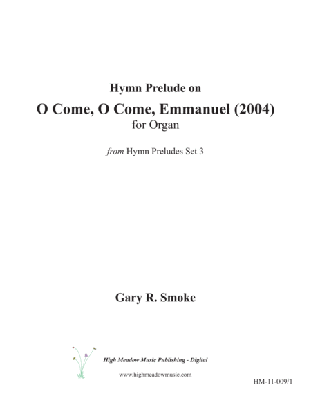 O Come, O Come, Emmanuel (2004)