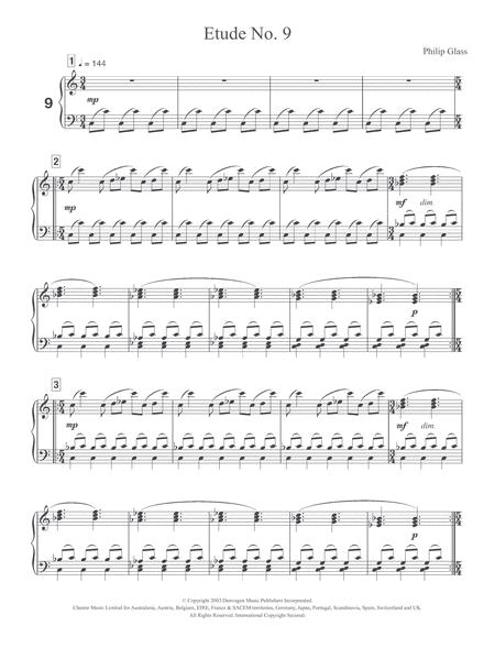 Etude No. 9