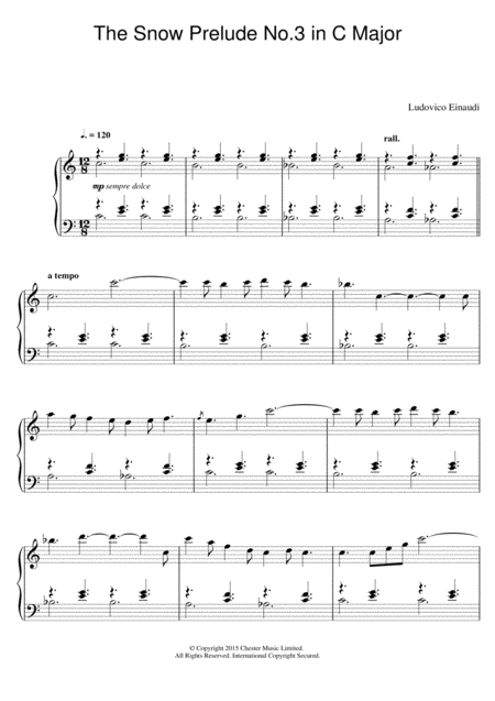 The Snow Prelude No. 3 In C Major