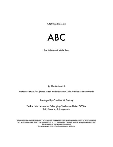 ABC - Violin Duet