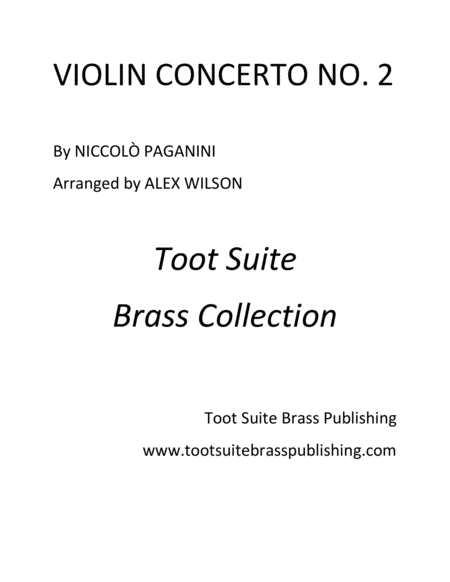 Violin Concerto No. 2 (for trumpet)