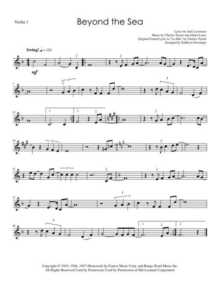 Beyond The Sea - String Quartet