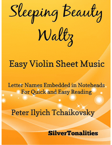 Sleeping Beauty Waltz Easy Violin Sheet Music