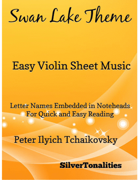 Swan Lake Theme Easy Violin Sheet Music