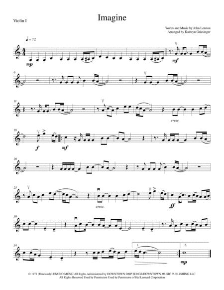 Imagine - String Quartet