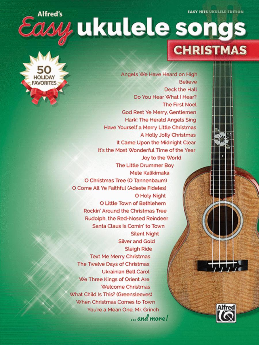 Alfred's Easy Ukulele Songs -- Christmas