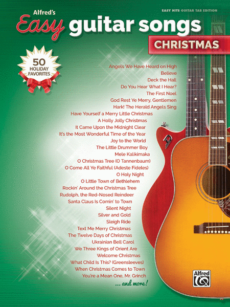 Alfred's Easy Guitar Songs -- Christmas