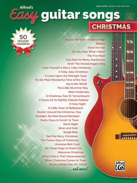 Easy christmas guitar