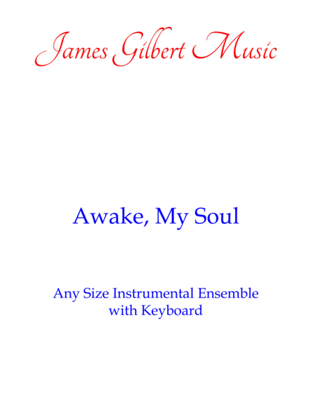 Awake My Soul (Any Size Church Orchestra Series)