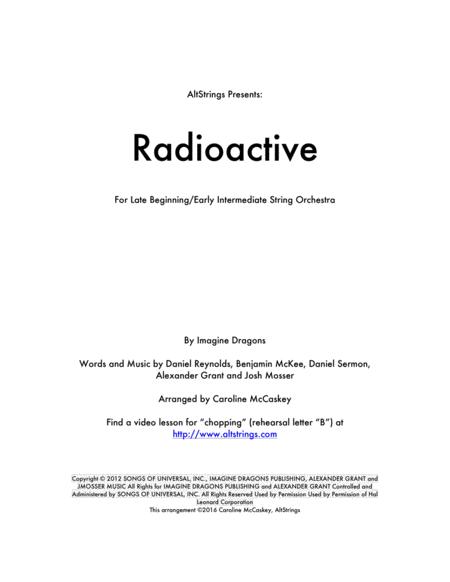 Radioactive - String Orchestra