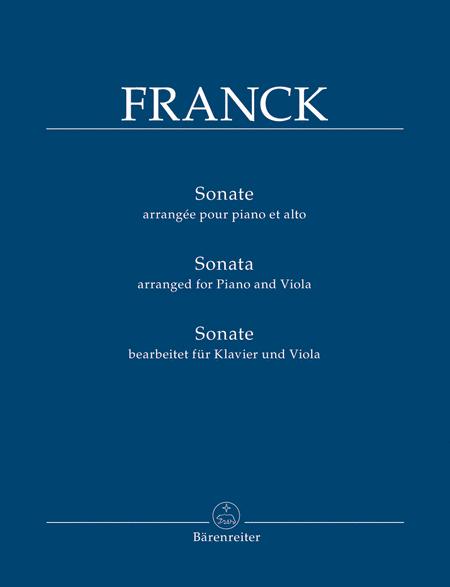 Sonata (arranged for Piano and Viola)
