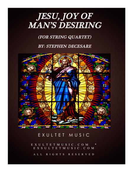 Jesu, Joy Of Man's Desiring (for String Quartet)