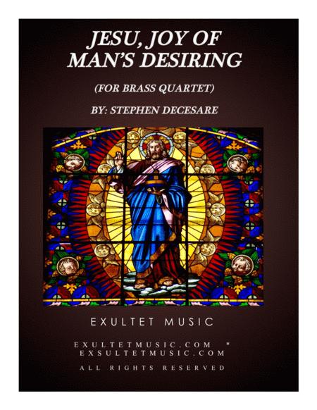 Jesu, Joy Of Man's Desiring (for Brass Quartet)