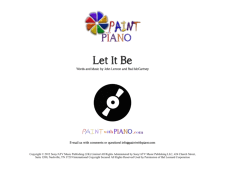 Let It Be (Five Finger Easy Piano)