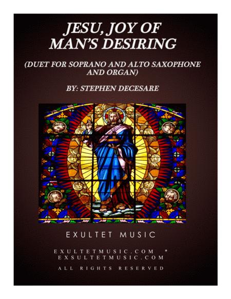 Jesu, Joy Of Man's Desiring (Duet for Soprano and Alto Saxophone and Organ)