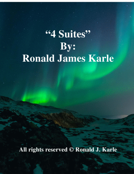 Suite 1-4 by: Ronald J. Karle Guitar Arrangement