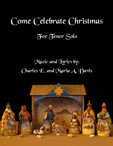 Come Celebrate Christmas - Vocal Solo for Tenor