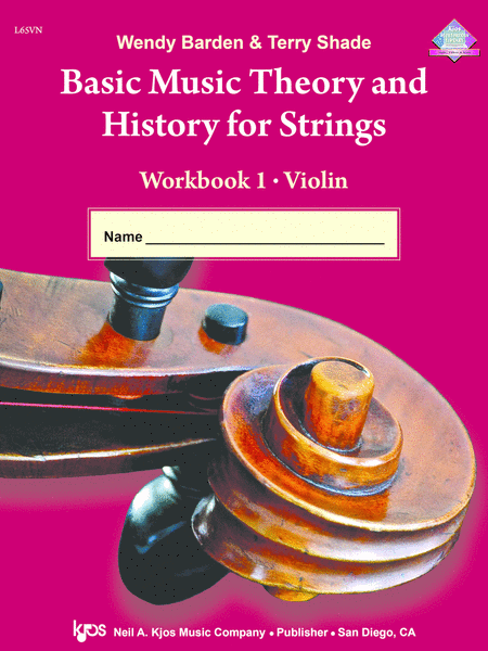 Basic Music Theory And History For Strings Workbook 1 - Violin