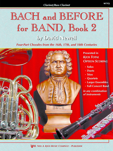 Bach and Before for Band - Book 2 - Clarinet/Bass Clarinet