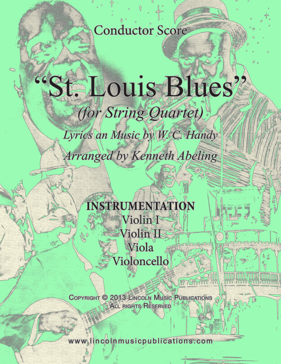 Dixieland – St. Louis Blues (for String Quartet)