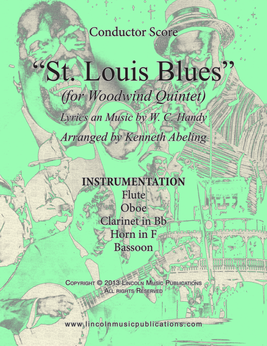 Dixieland – St. Louis Blues (for Woodwind Quintet)