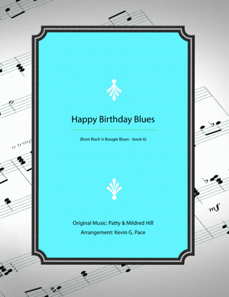 Happy Birthday Blues - piano solo