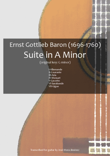 Suite in A minor - E. G. Baron