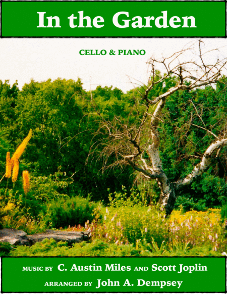 In the Garden / Maple Leaf Rag (Cello and Piano)