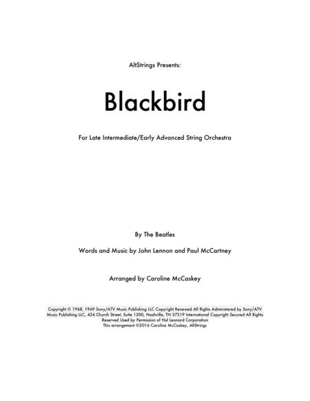 Blackbird - String Orchestra