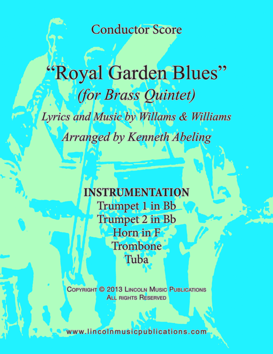 Royal Garden Blues (for Brass Quintet)
