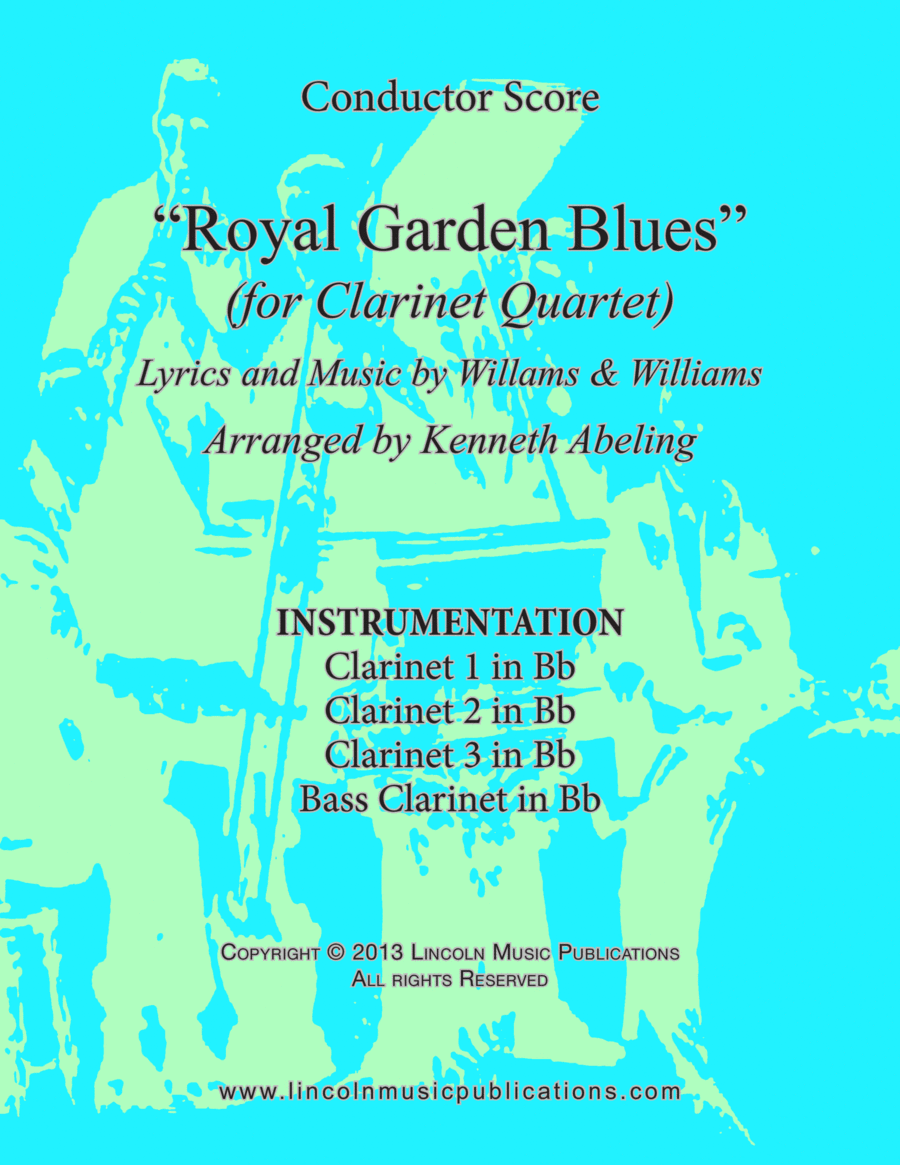 Dixieland - Royal Garden Blues (for Clarinet Quartet)