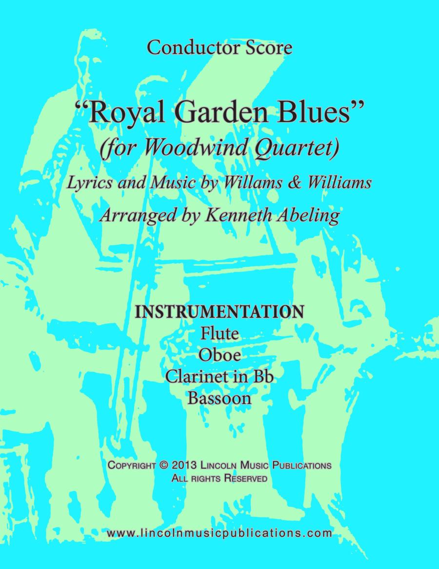 Royal Garden Blues (for Woodwind Quartet)