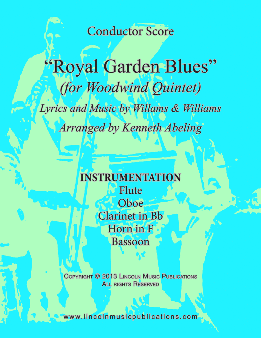 Dixieland - Royal Garden Blues (for Woowind Quintet)