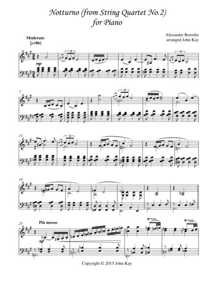 Notturno (from String Quartet No.2)