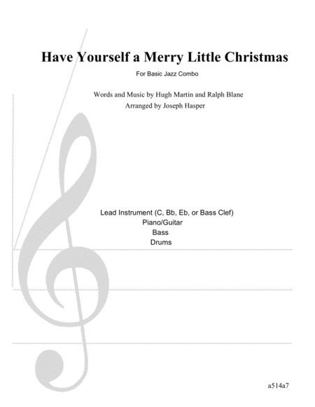 Have Yourself A Merry Little Christmas (Basic Combo)