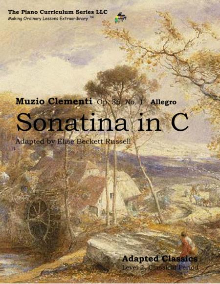 Sonatina in C Major Op. 36, No. 1 Allegro