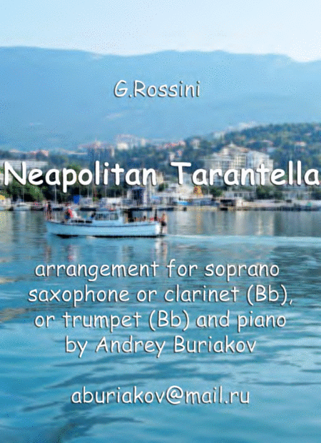 Neapolitan Tarantella (instrument in Bb)