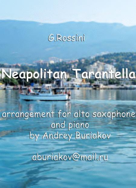 Neapolitan Tarantella (alto saxophone)
