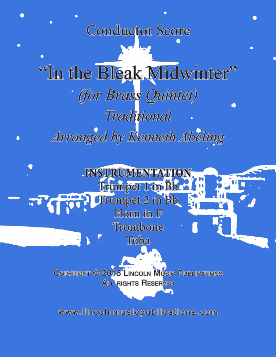In the Bleak Midwinter (for Brass Quintet)
