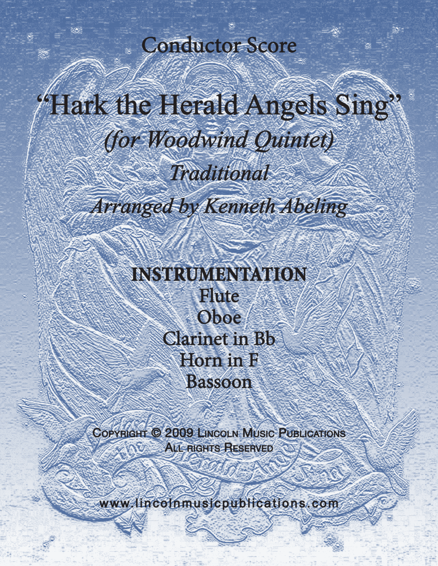 Jazz Carol - Hark! The Herald Angels Sing (for Woodwind Quintet)