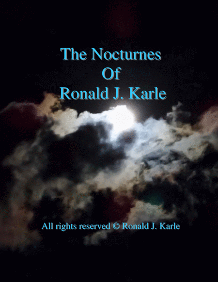 Nocturne #41 by: Ronald J. Karle  Arrangement for Cello, Piano