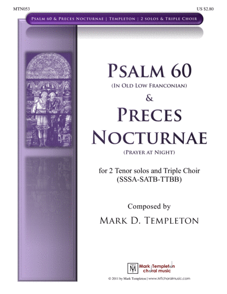 Psalm 60 & Preces Nocturnae