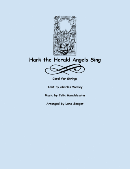 Hark the Herald Angels Sing (two violins and cello)