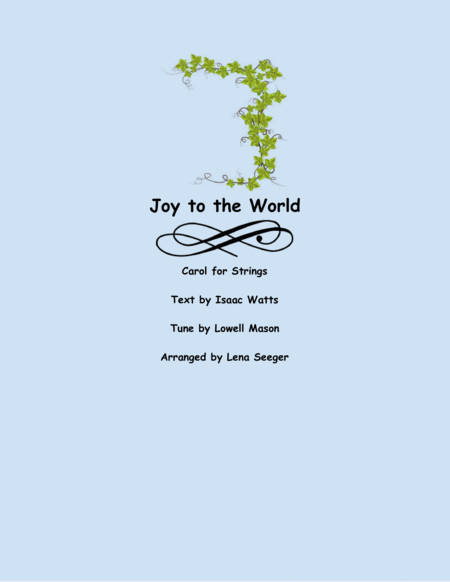 Joy to the World (two violins and cello)