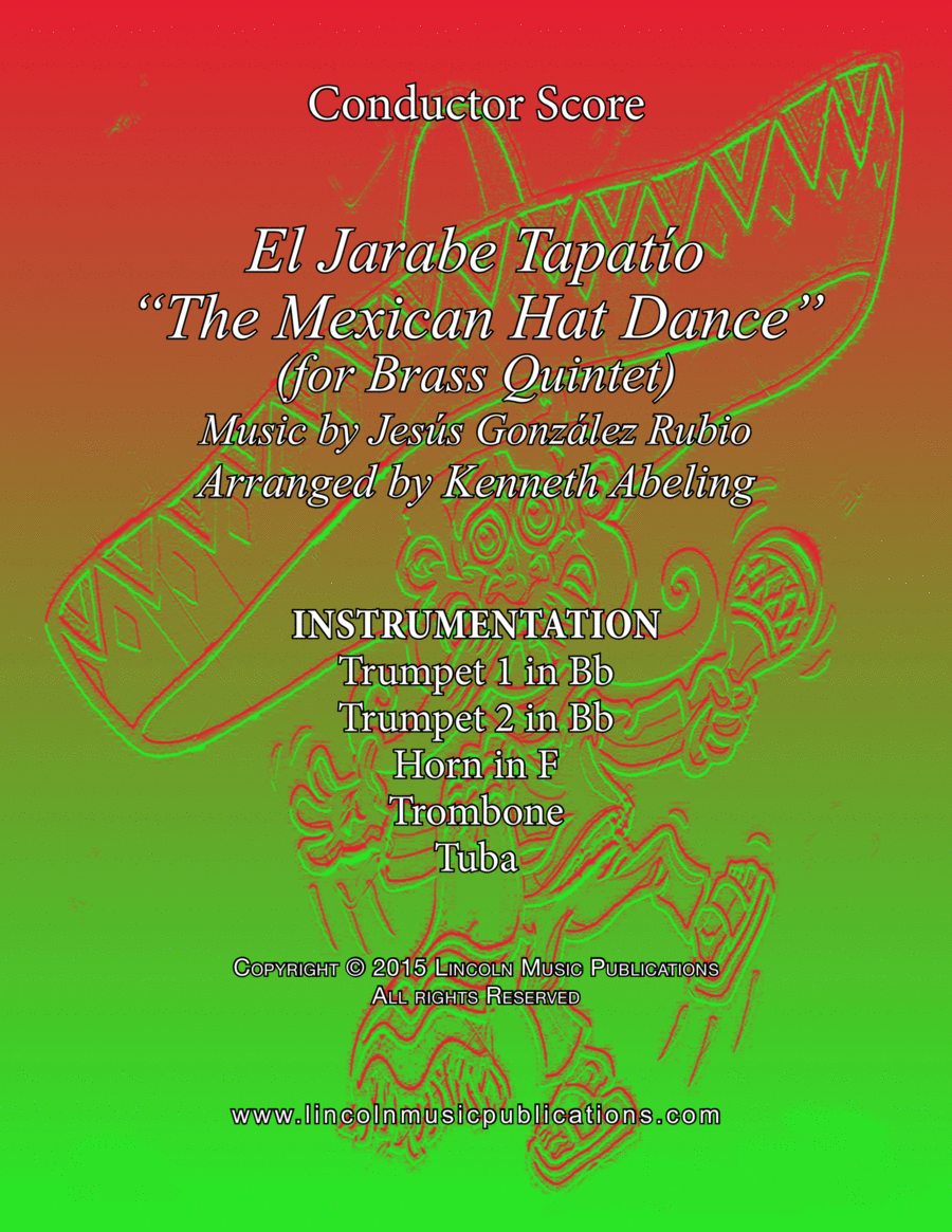 """El Jarabe Tapatío - """"Mexican Hat Dance"""" (for Brass Quintet)"""